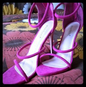 Pink Heels Fuschia Hot Pink